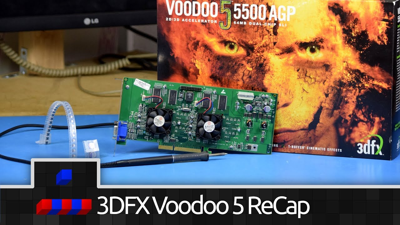 Voodoo 5 Capacitor Replacement – ★★★☆☆ 3/5 Skill