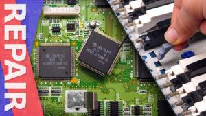 TT Repairs: Roland SK-88 CPU Replacement and Key Rebuild