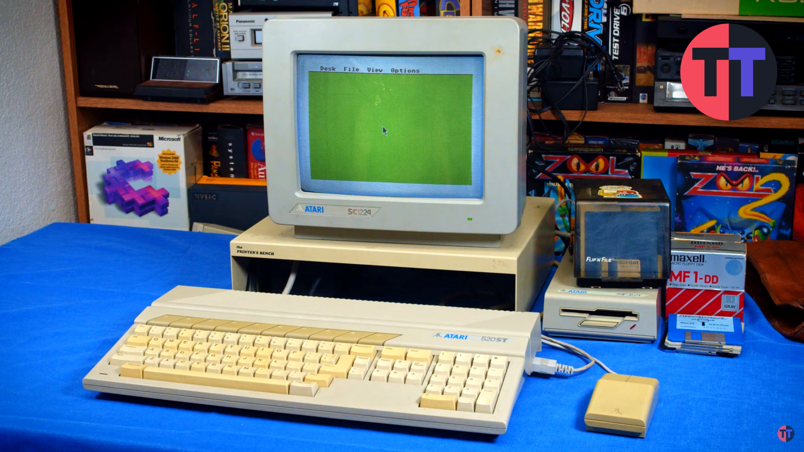 First Contact – The Atari ST's Surprisingly Numerous Faults
